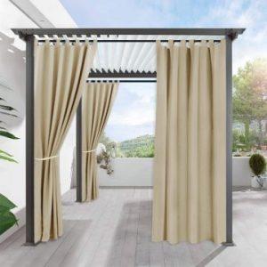 waterproof outdoor curtains